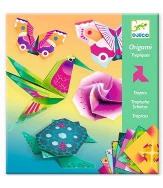 Djeco Djeco | Origami | Tropische Dieren | 7-13 jaar