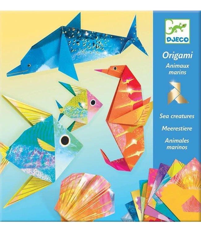 Djeco   Origami   Zeedieren   7-13 jaar