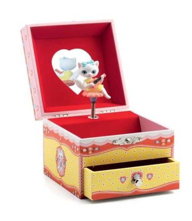 Djeco Musical boxes Cat Song