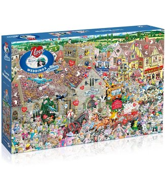 Gibsons Gibsons Mike Jupp Puzzle I Love Weddings 1000 pieces
