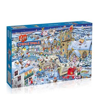 Gibsons Gibsons Mike Jupp Puzzle I Love Christmas 1000 pieces