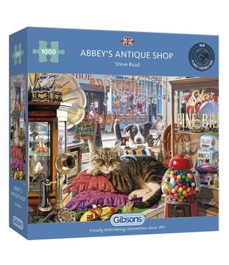 Gibsons Gibsons Puzzle | Steve Read | Abbey's Antique Shop | 1000 pieces