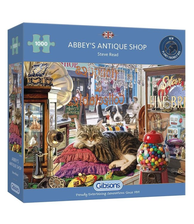 Gibsons Puzzle | Steve Read | Abbey's Antique Shop | 1000 pieces