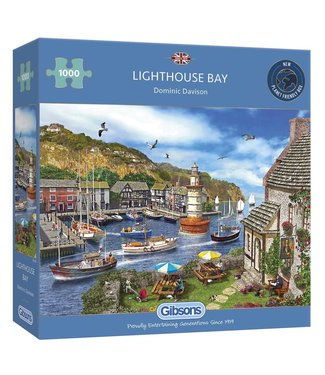 Gibsons Gibsons Puzzle | Dominic Davison | Lighthouse Bay | 1000 pieces