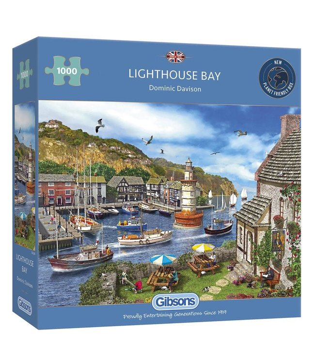 Gibsons Puzzle | Dominic Davison | Lighthouse Bay | 1000 pieces