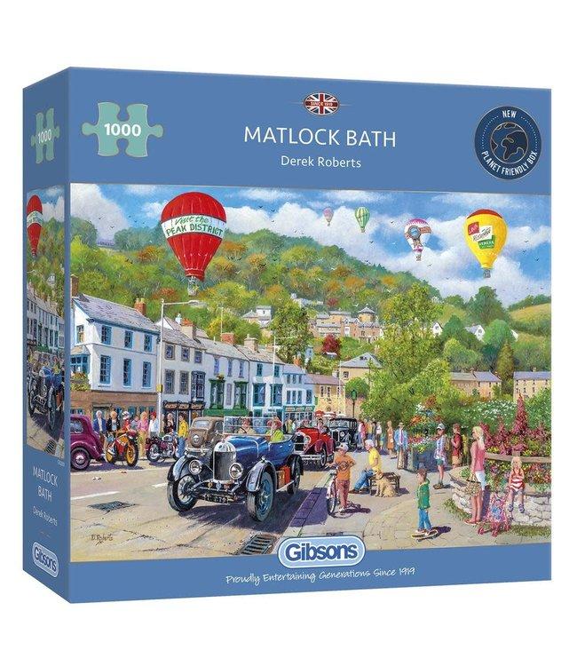 Gibsons Puzzle | Derek Roberts | Matlock Bath | 1000 pieces