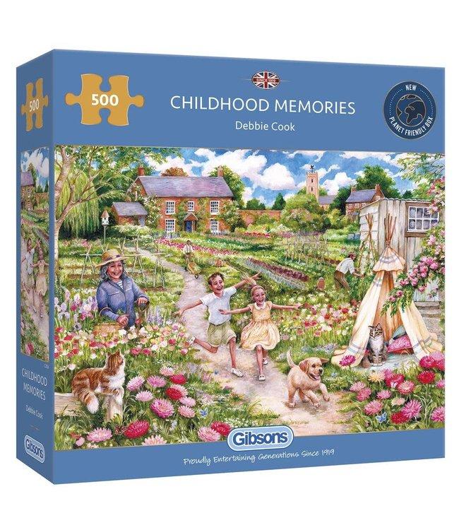 Gibsons Puzzle   Debbie Cook   Childhood Memories   500 pieces