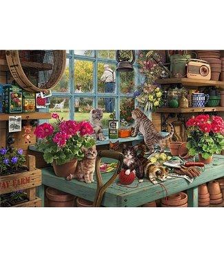 Wentworth Wentworth Houten Legpuzzel | Steve Read | Grandpa's Potting Shed | 40 stukjes