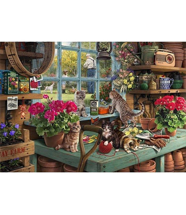 Wentworth Houten Legpuzzel | Steve Read | Grandpa's Potting Shed | 40 stukjes