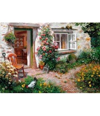 Wentworth Wentworth Houten Legpuzzel | Stephen Darbishire | Roses Around the Door | 40 stukjes