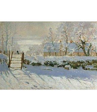 Wentworth Wentworth Houten Legpuzzel | Claude Monet | The Magpie | 40 stukjes