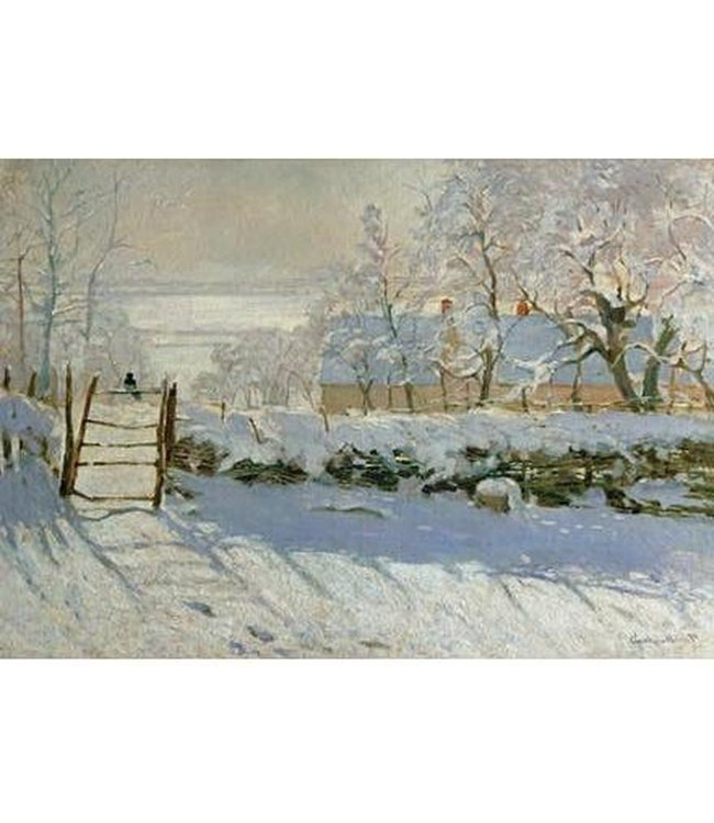 Wentworth Houten Legpuzzel | Claude Monet | The Magpie | 40 stukjes