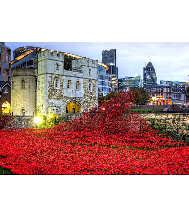Wentworth Houten Legpuzzel | Tower of London Remembrance  | 40 stukjes