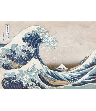 Wentworth Wentworth Houten Legpuzzel   Hokusai   The Great Wave off Kanagawa  40 stukjes