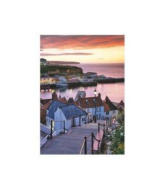 Wentworth Wentworth Houten Legpuzzel | Joe Cornish | Whitby Harbour, Summer Twilight |40 stukjes