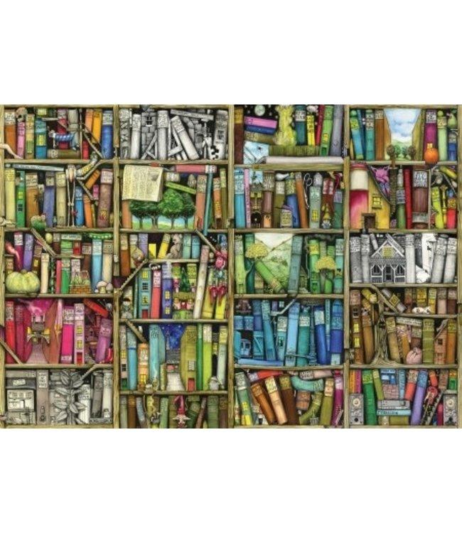 Wentworth Houten Legpuzzel | Colin Thompson | Bookshelf | 40 stukjes