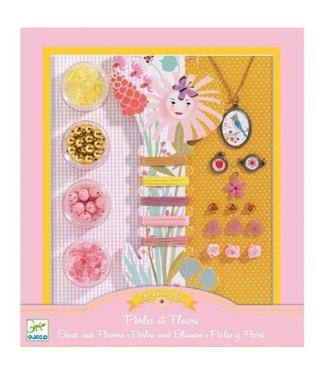 Djeco Djeco Needlework Beads and Jewellery Beads and Flowers 8+