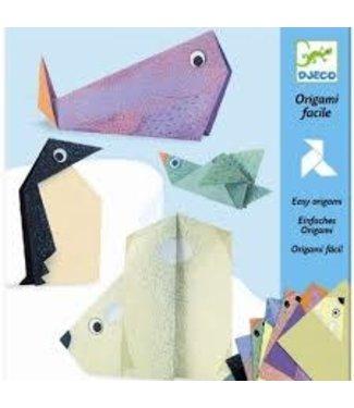 Djeco Djeco Easy Origami Pooldieren 5-10 jaar