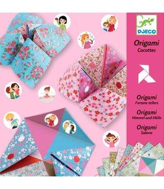 Djeco Djeco | Origami | Fortune Teller | Flowers | 6-11 jaar