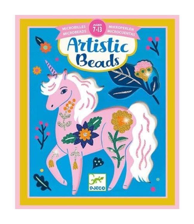 Djeco | Artistic Beads | Gebloemde Vachten | 7-13 jaar