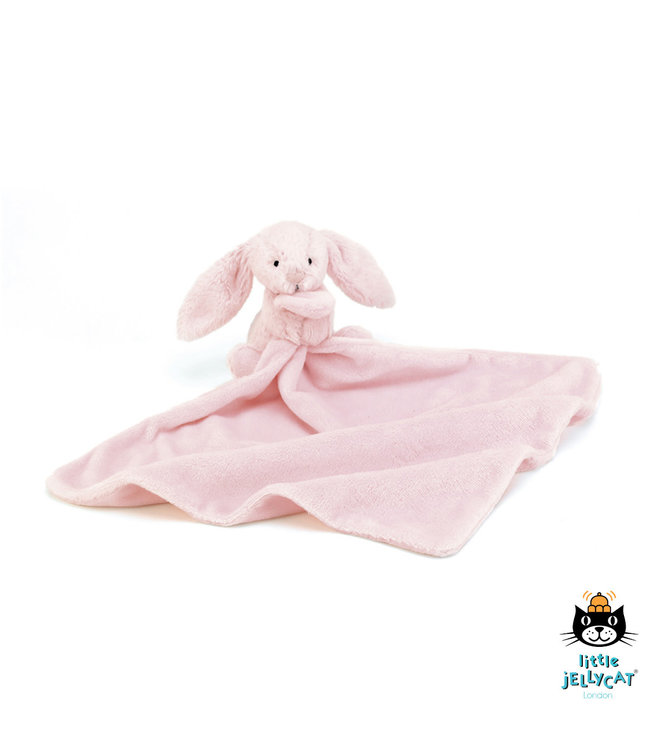 Jellycat Bashful Pink Bunny Soother 34 cm