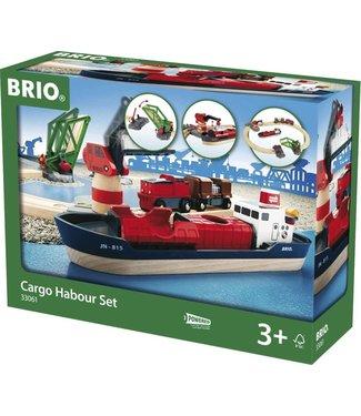 Brio Brio Houten Treinbaan Startset Laadhaven  16 dlg 3+