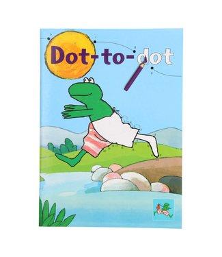 Kikker Kleurboek dot-to-dot 3+