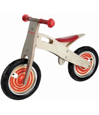 Simply For Kids Simply For Kids Tweewieler Loopfiets Rood 2+