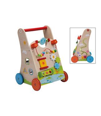 Joueco Jouéco Babywalker met Vormenstoof - Loopwagen 1+