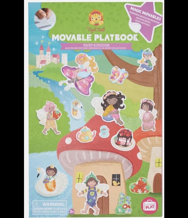 Tigre Tribe Movable Playbook | Fairy Kingdom | 3+