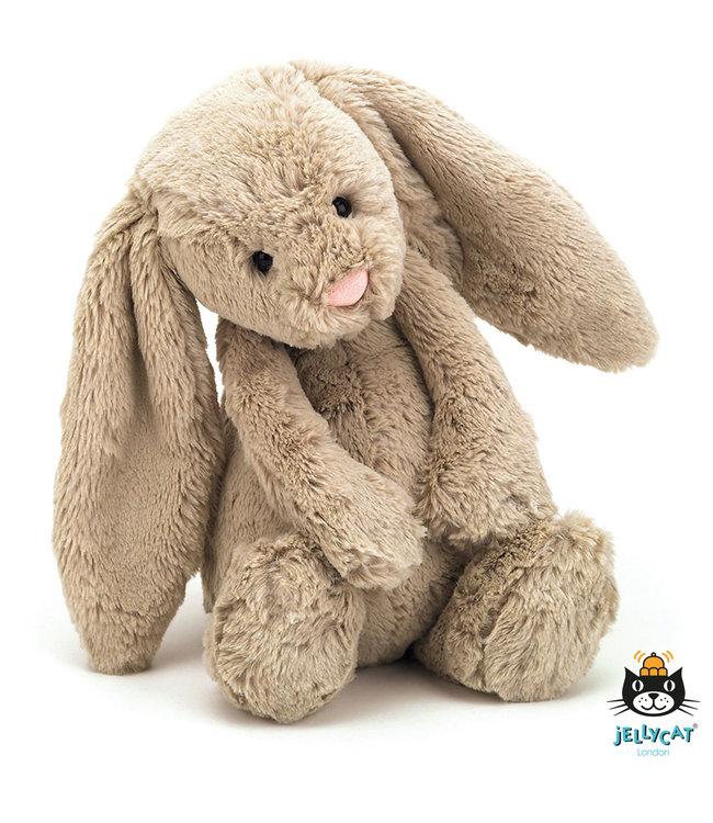 Jellycat   Bashful Bunny   Beige    Medium   31 cm   0+