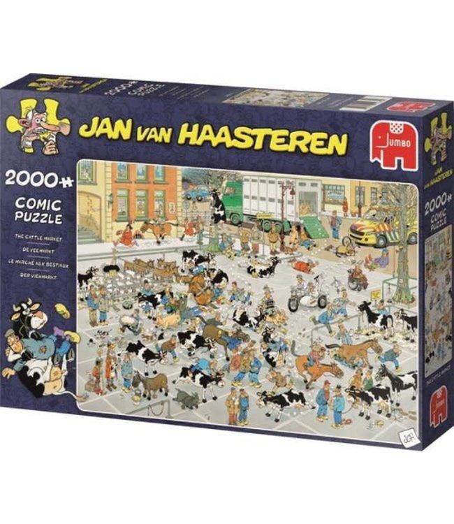 Jumbo Jan van Haasteren de Veemarkt 2000 stukjes