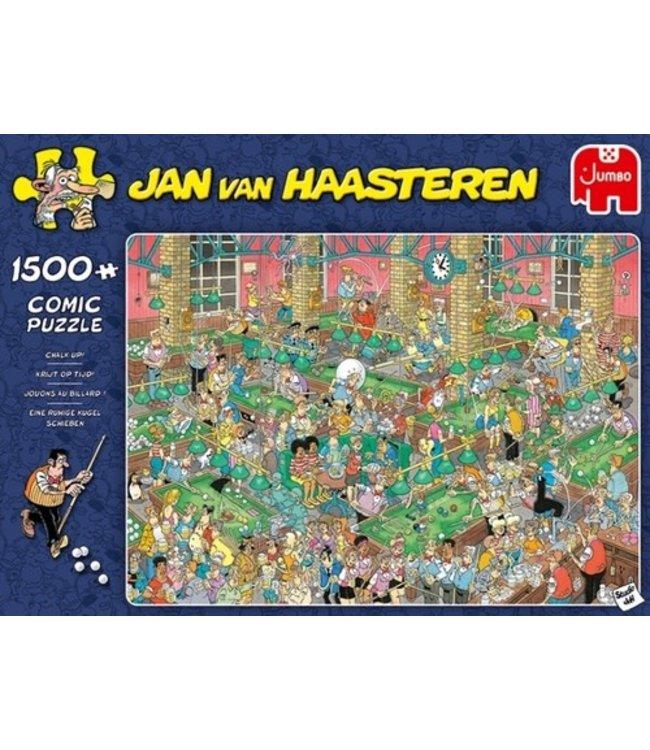 Jumbo Jan van Haasteren Puzzel Krijt op Tijd! 1500 stukjes