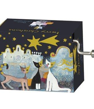 Fridolin Fridolin Art & Music | Christmas | Muziekmechaniek Cats Alla Roca | Silent Night