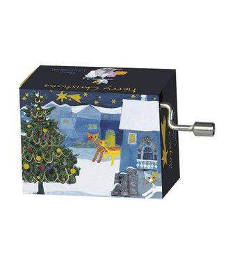 Fridolin Fridolin Art & Music | Christmas | Muziekmechaniek Cats in the Snow | Jingle Bells