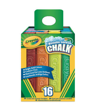 Crayola Crayola Stoepkrijt 16 stuks 4+