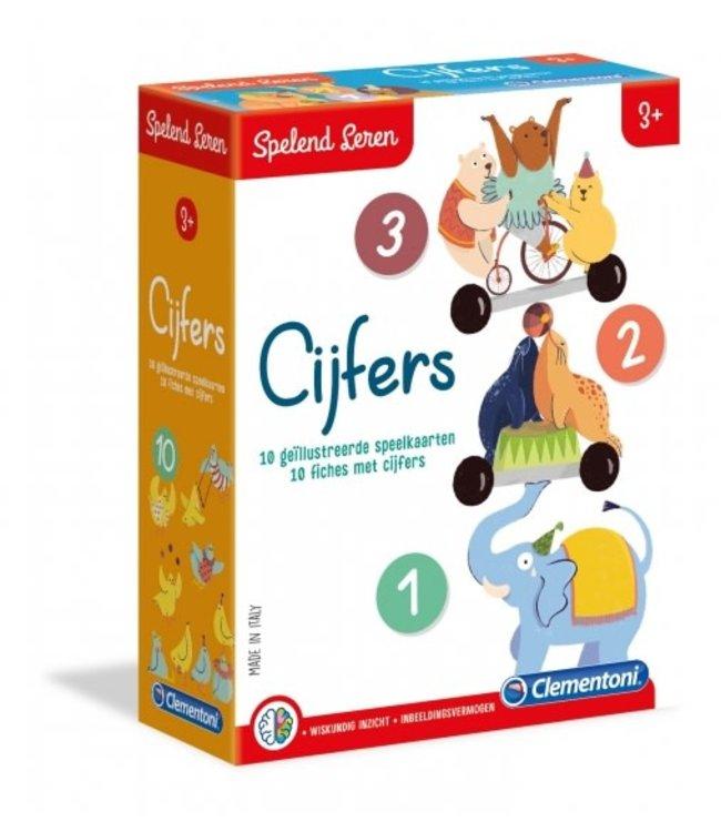 Clementoni Spelend Leren - Cijfers 3+