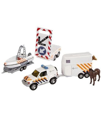 2-Play 2-Play Die-Cast Giftset Politie 4-delig 3+