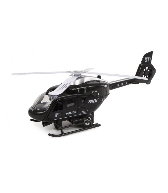 2-play Die Cast Helikopter Politie USA Swat  3+