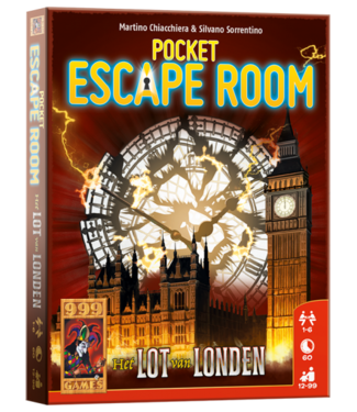 999-Games 999 Games | Escape Room | Pocket | Het Lot van Londen |12+