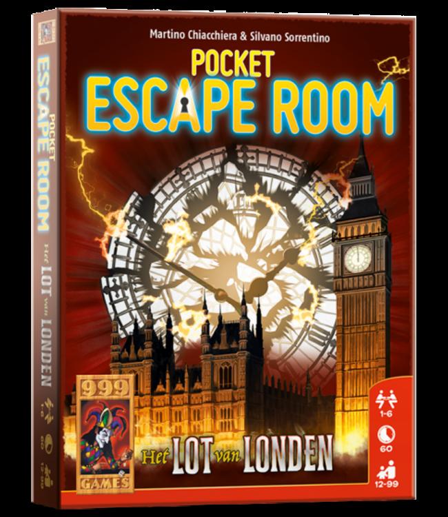 999 Games | Escape Room | Pocket | Het Lot van Londen |12+