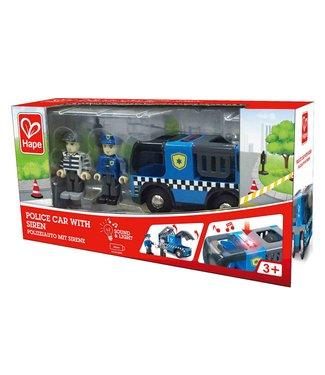 Hape Hape | Police Car with Siren | 3+