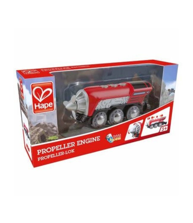 Hape | Battery Powered Propeller Engine | 3+