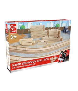 Hape Hape   Super Expansion Rail Pack   24 delig   3+