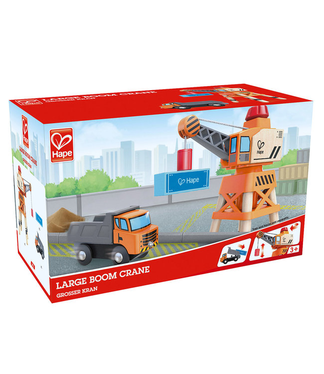 Hape | Large Boom Crane | 3+