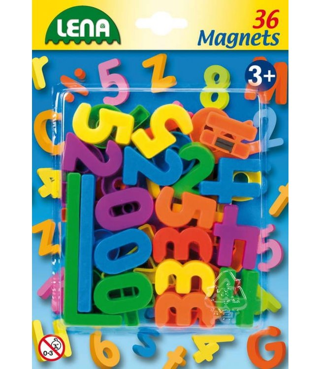 Lena | Magnetische Cijfers | 36 stuks | 3+