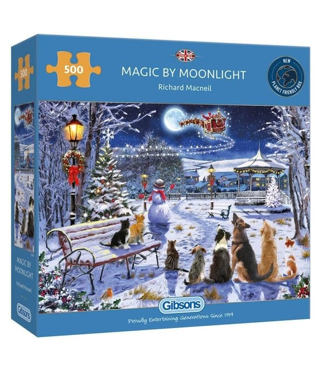 Gibsons Puzzle | Richard Macneil | Magic By Moonlight | 500 pieces