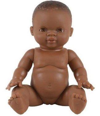 Paola Reina Paola Reina Gordi Babypop Meisje Bruine Ogen 34 cm