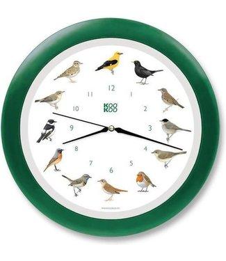 Kookoo KooKoo Zangvogels met Groene Lijst