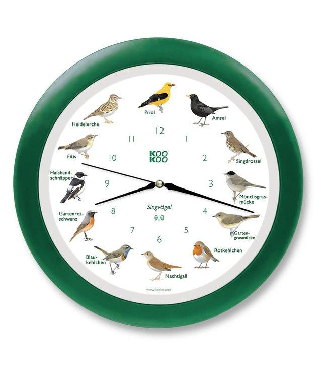KooKoo Zangvogels met Groene Lijst Radio Controlled